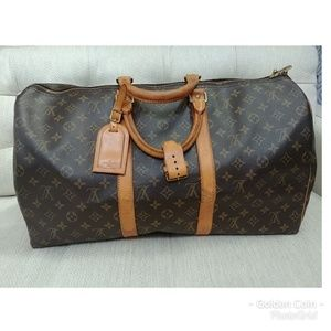 100% Authentic LV Keepall 45 -Used